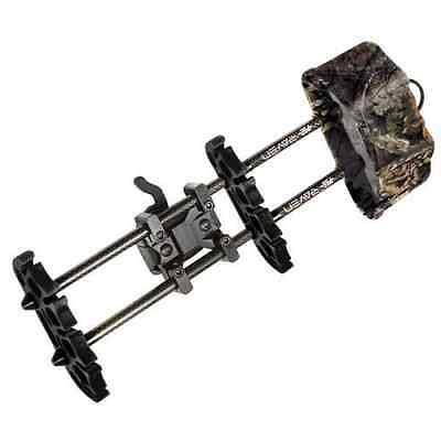 NEW  PSE RAVEN BOW QUIVER MO COUNTRY CAMO 5 ARROW Archery W/TREE HANGER