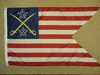 1st Cavalry Division Guidon 1863 Indoor Outdoor Historical Dyed Nylon Flag 3'x5'