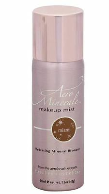AERO MINERALE MAKEUP MIST SPRAY ON BRONZER SHIMMER Classified COSMETICS Miami CC