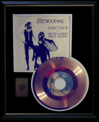 Fleetwood Mac Gold Record Disc 45 Rpm  Don't Stop  With Sleeve Rare