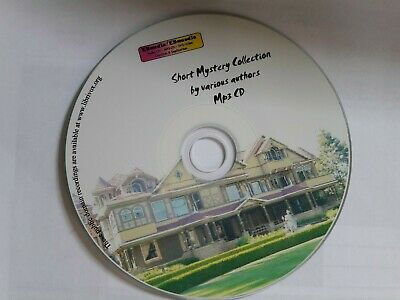 20hrs Short Mystery Story Audio books Collection MP3/Digital, Unabridged CD