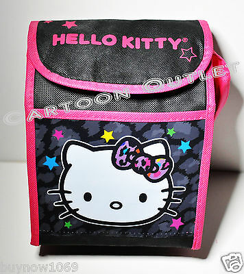 Hello Kitty Lunch Bag Box Snack Tote School Girls Insulated Tall  Bag Gift Fun