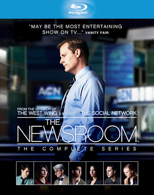 The Newsroom: The Complete Series Blu-ray (2015) Jeff Daniels ***NEW***