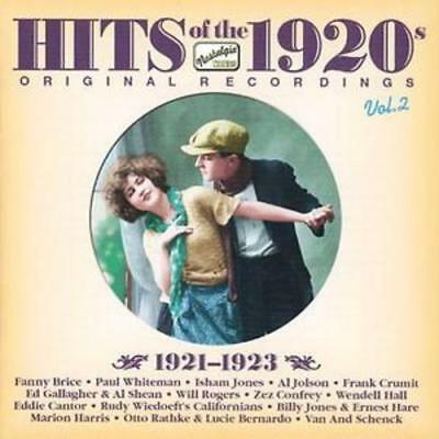 Various Artists : Hits of the 1920s, Vol. 2: 1921-1923 CD (2006)***NEW***