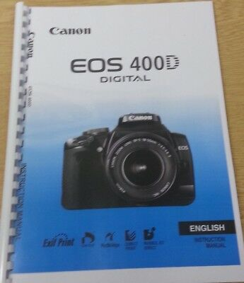 canon eos 100d instruction manual