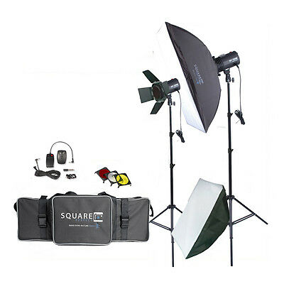 Photography Studio Kit Complete w/Photo Lighting - Strobes - Stands & More! NEW