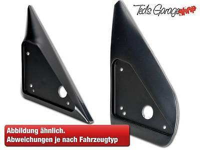 Sports mirror Adapter plate set Black for BMW 1er E87 / New item