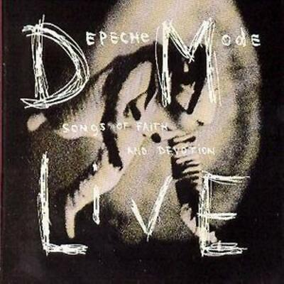 Depeche Mode : Songs of Faith and Devotion Live CD (1993) FREE Shipping, Save £s