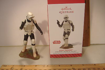 ~Scout Trooper~18Th In The Star Wars Series~2014 Hallmark Ornament