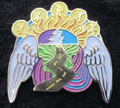 Golden Road Grateful Dead Tripp Pin Music Collectible Limited Edition