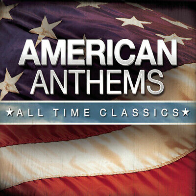 Various Artists : American Anthems: All Time Classics CD 3 discs (2012)
