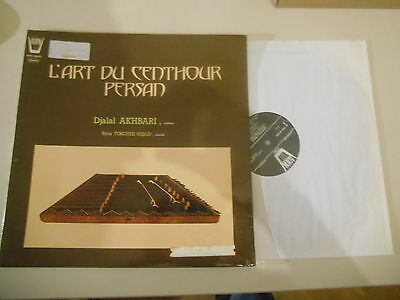LP Ethno Djalal Akhbari - L'Art Du Centhour Persan (8 Song) ARION FRANCE