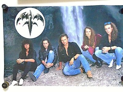 """Queensryche / Orig. Vintage Poster #47  """"1991"""" / exc.+ new cond. - 21 x 32"""""""
