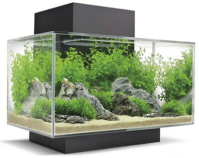 Fluval Edge II 6 Gal Aquarium Black 21 LED