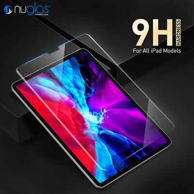 Genuine NUGLAS Tempered Glass Screen Protector for Apple iPad Pro Air Mini 2017
