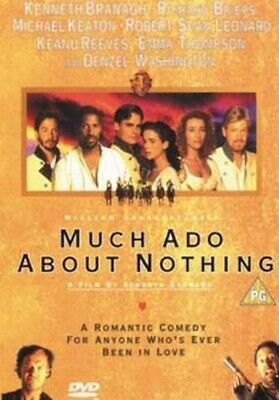 Much Ado About Nothing DVD (1999) Kenneth Branagh cert PG FREE Shipping, Save £s