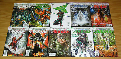 Green Arrow #1-15 VF/NM complete series - dc comics - brightest day - 2010 set