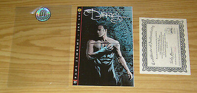 the Darkness: Prelude #1B VF/NM dynamic forces variant signed by Jae Lee w/COA