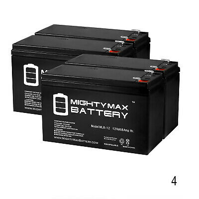 12V 1Amp Charger Mighty Max 12V 8AH SLA Battery Replaces Smart-UPS SU2200BX120