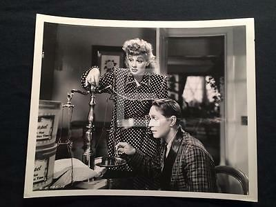 1947 Lucille Ball Her Husband's Affairs Franchot Tone VINTAGE MOVIE PHOTO 715M