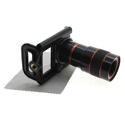 New 8x Zoom Optical Lens Telescope + Universal Holder For iPhone 6 Plus Samsung