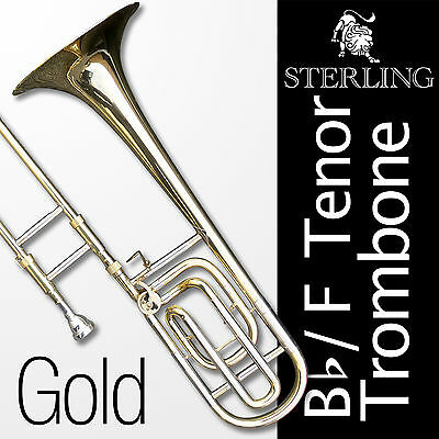 Bb/F TENOR TROMBONE • With F Trigger • High Quality • Brand New • Special •