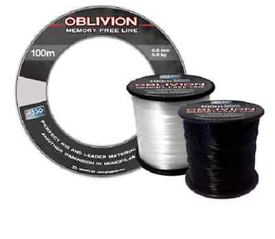 Asso NEW Oblivion Memory Free Rig & Leader Fishing Line - 100m Bangle