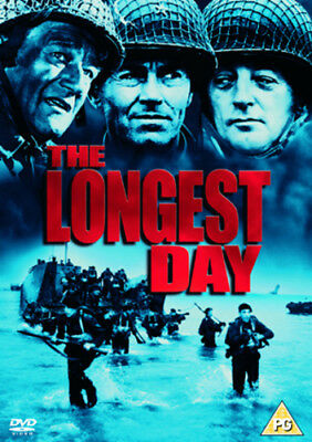 The Longest Day DVD (2004) John Wayne ***NEW***
