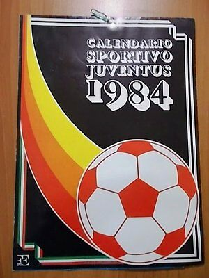 calcio CALENDARIO JUVENTUS 1984
