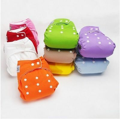 1 PCS New Inserts Adjustable Reusable Lot Baby Washable Cloth Diaper Nappies