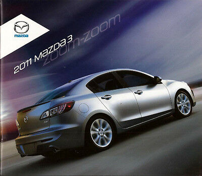 2011 11 Mazda 3 Series Original sales brochure MINT