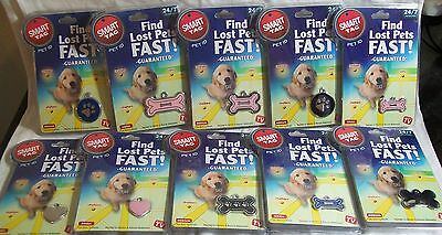 Smart Tag Pet ID Tag Find Lost Pets Fast 24/7 Pet Recovery As Seen On TV *New