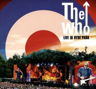 The Who - Live In Hyde Park [Cd/Dvd] Used - Very Good Cd