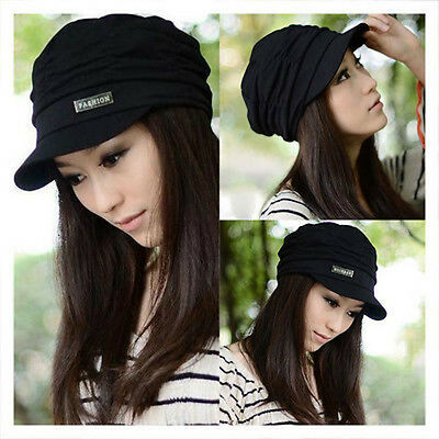 b511a908e77 Cadet Army Military Flat Top Jeep Cap Caps Hat Ribbed Knit Visor Beanies Ski