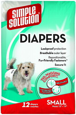 Simple Solution Disposable Diapers Small 12ct