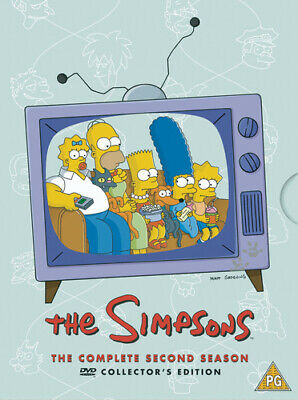 The Simpsons: Complete Season 2 DVD (2002) Dan Castellaneta