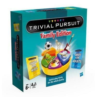 New Hasbro Trivial Pursuit Family Edition Board Game - 73013