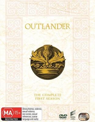 Outlander Season 1 Series 1 Volume Part 1 & 2 DVD Box Set R4