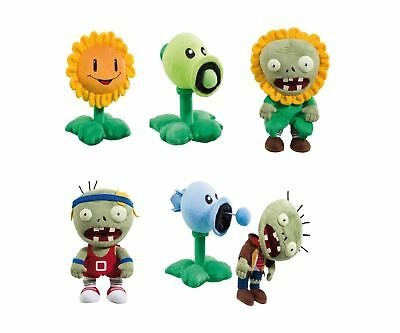 Plüschfiguren Plants vs Zombies ca. 25 cm Zombies/Peashooter/Sunflower