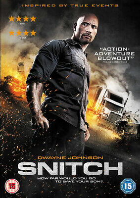 Snitch DVD (2013) Dwayne Johnson