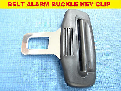 VAUXHALL ASTRA//MERIVA BLACK SEAT BELT ALARM BUCKLE KEY CLIP SAFETY CLASP STOP