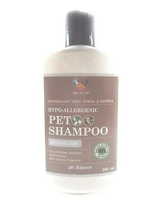 Thailand Pet Shampoo HYPO-ALLERGENIC PET DOG SOOTHING-ANTI YEAST FUNGAL BACTERIA