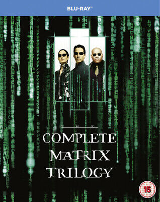 The Matrix Trilogy Blu-Ray (2008) Keanu Reeves