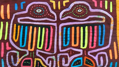 Kuna Hand-Made Mola Panama Art 51298