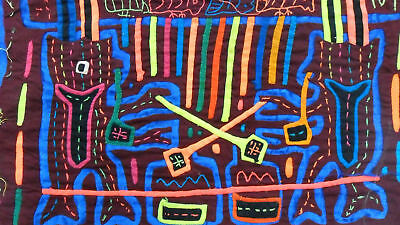 Kuna Hand-Made Mola Panama Art 51287