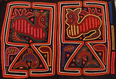 Kuna Tribe Multi Panel Mola Panama Art 15.60908