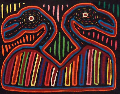 Kuna Tribe Birds Mola Panama Art 15.59888