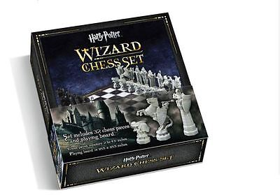 New Harry Potter Wizard Sorcerer Stone Chess Board Set Playboard Nobel 32 Pieces