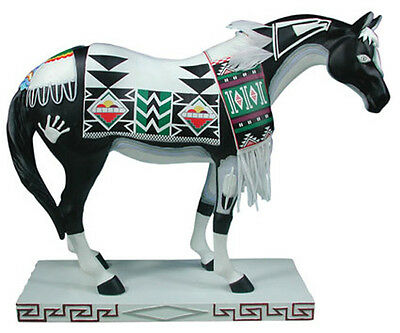 Trail of Painted Ponies TEWA HORSE FIGURINE #1546 New in Box, Retired!