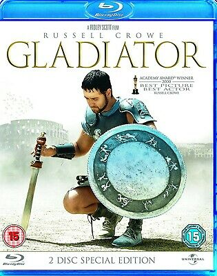 Gladiator Blu-ray (2009) Russell Crowe, Scott (DIR) cert 15 Fast and FREE P & P